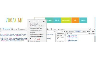 Zafixování horní lišty s menu na WordPressu