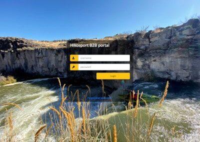 Hiko B2B portál – webová aplikace